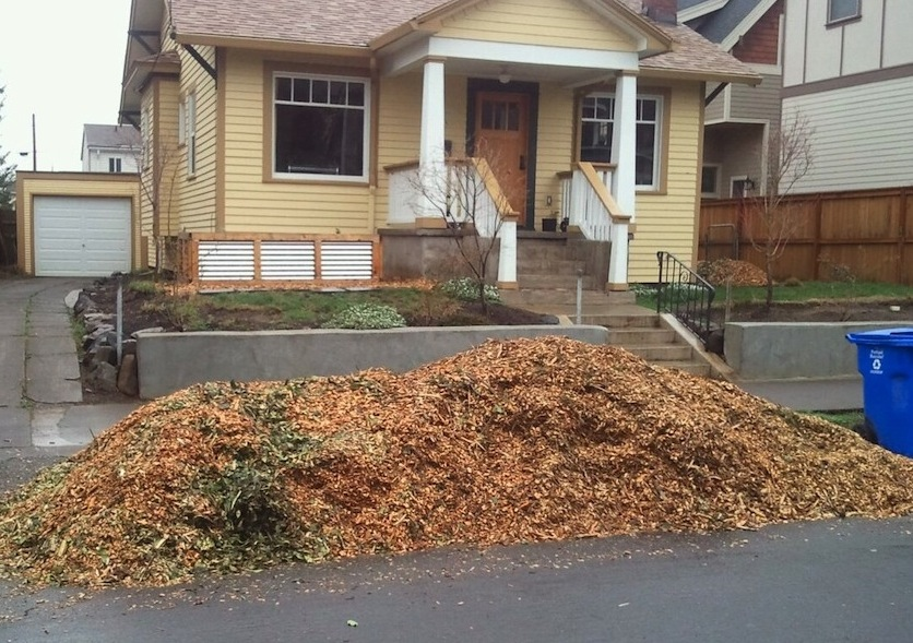 Chip Drop - a free mulch program for gardeners and